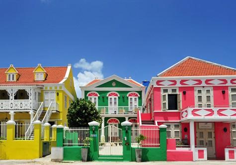 Curacao Architecture Pietermaai