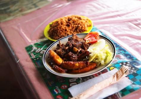 Curacao Marshe Bieuw Food