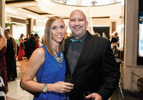 Patti & Chad Vorbrich of Tampa Bay Metro magazine