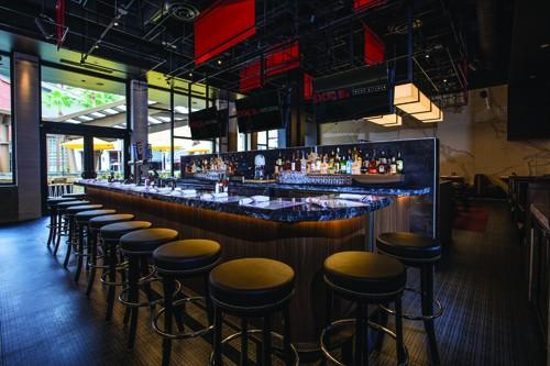 Doc B's Fresh Kitchen Interior Bar