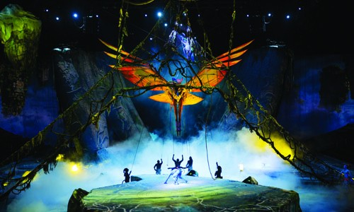 TORUK is a live immersive multi-media spectacle