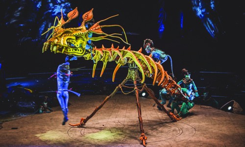 Cirque du Soliel - TORUK - in Tampa Bay