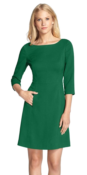 green dress for St. Patrick's Day