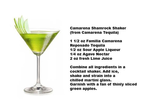 Camarena Shamrock Shaker