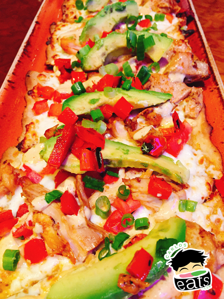 Southwest Chicken Flatbread
