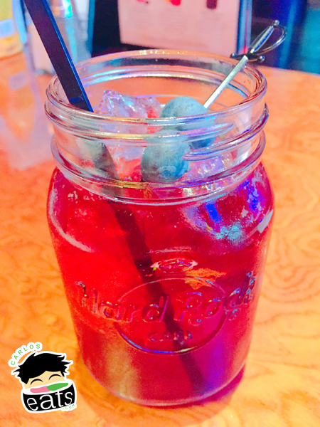 Summertime Blues drink
