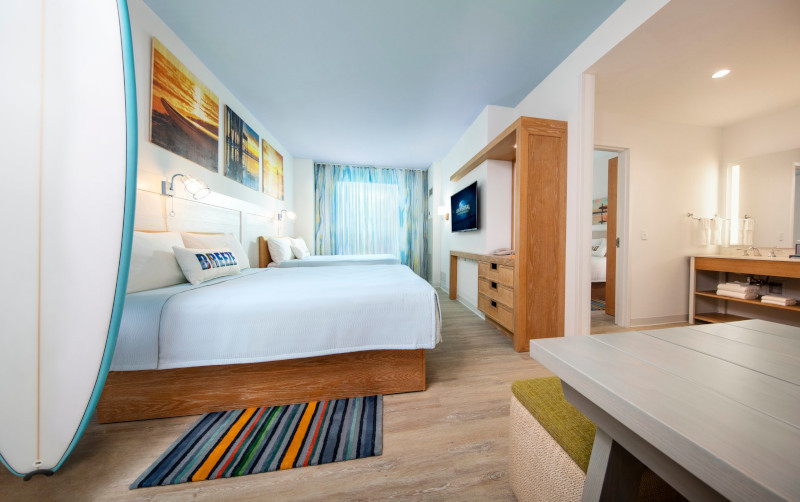 Dockside Suites and Standard Model Room Shoot Endless Summer Resort Hotels